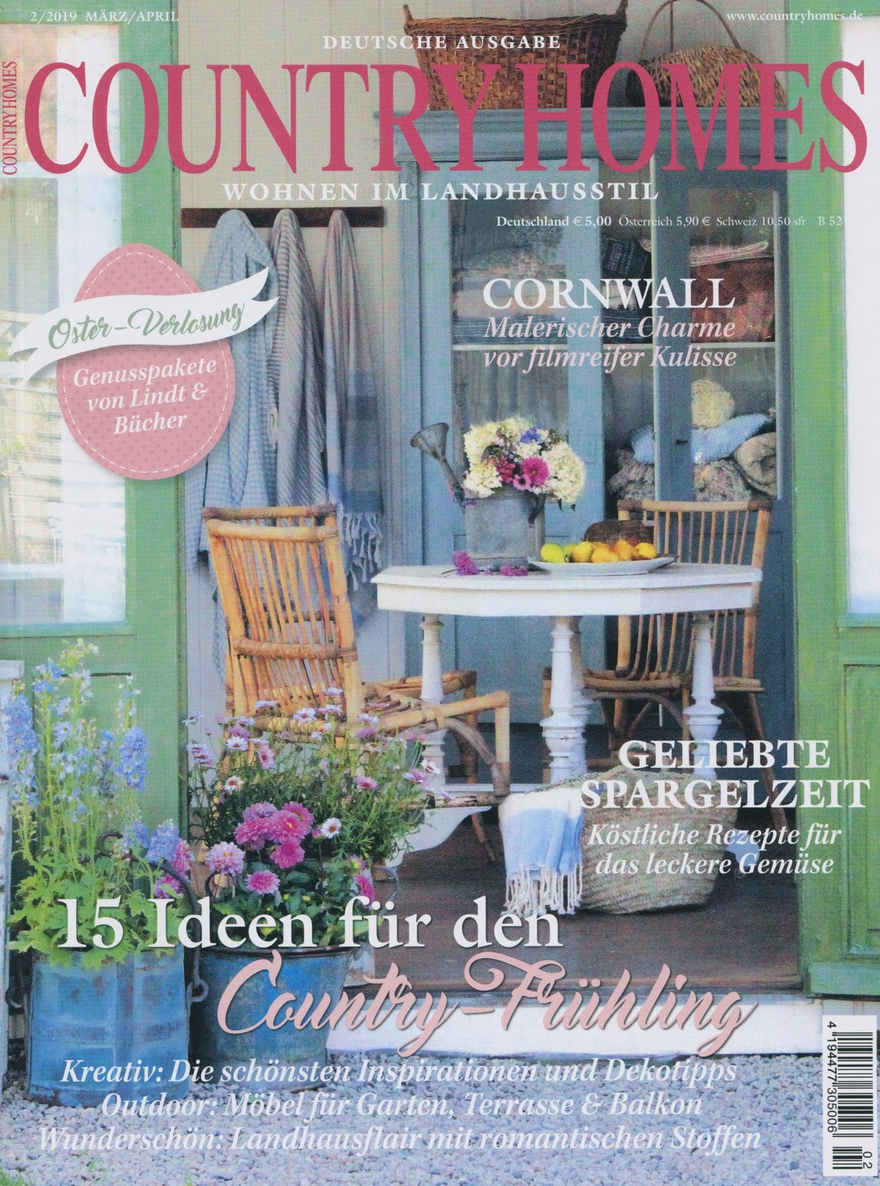 COUNTRYHOMES – 2/2019 März/April